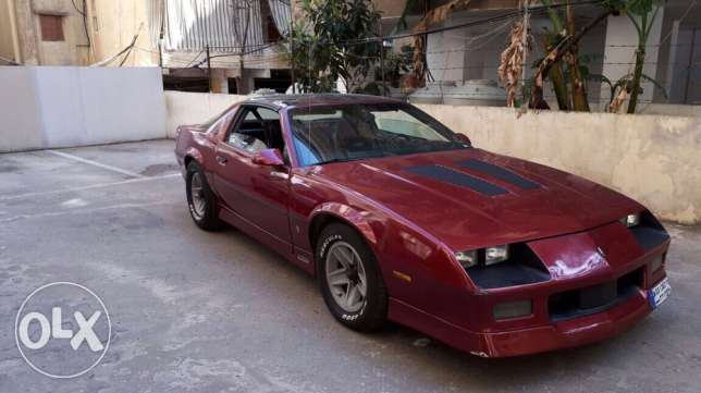 Camaro SS 1986 Z 28 for sale, for serious buyers only