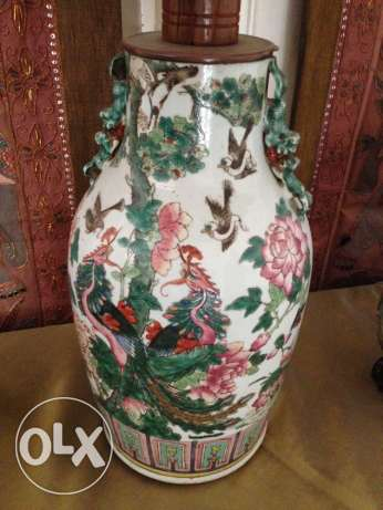 antique China lampshade اصلي لامبادير انتيك