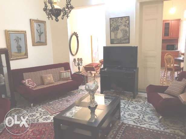 AMH167, Apartment for rent in Achrafieh,100 sqm plus 50 sqm terrace