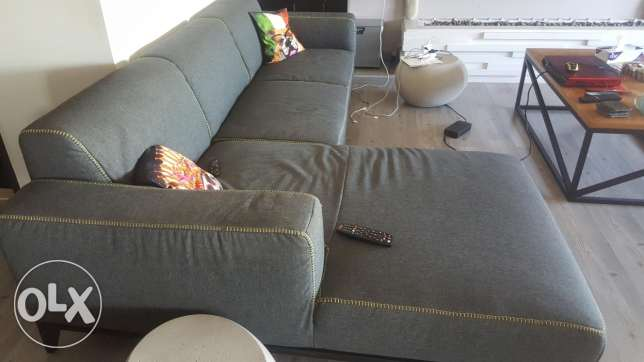 Couch and box bed