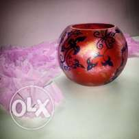 Hand painted glass intems for sale