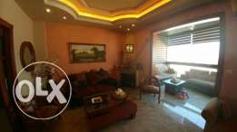 Apartment in zouk mikael 165 m2 deluxe panoramic view fully decorated