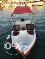 Excellent boat for fishing and entertainment