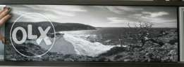 Photography of Greece in black and white on wood