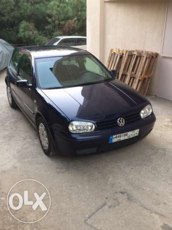 Golf 4 2.0 Model 2004 In Excelent Condition Dark Blue For sale جديدة -  2