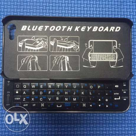 IPhone 5s Bluetooth keyboard cover