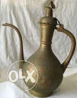 Antique large Tea pot vase made from bronze and copper, 18th Century