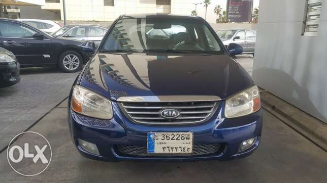 KIA Cerato Model 2008/ excellent فول اوبشن دون حوادث مصدر الشركه