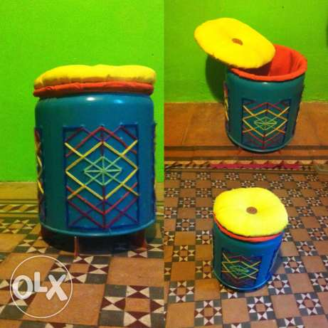 small stool/ storage