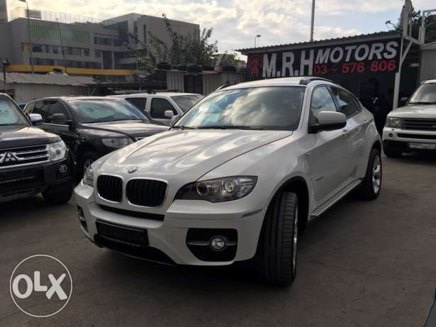 BMW X6 White 2011 Top of the Line in Excellent Condition! بوشرية -  3