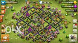 2ared clash of clans th8