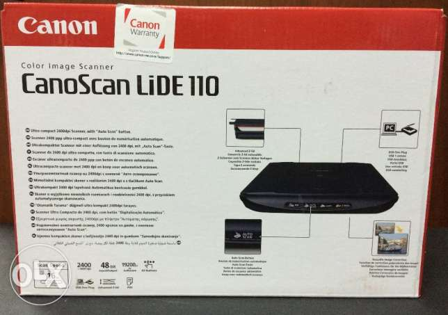 Canon LiDe 110 Scanner used in good Condition