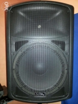 Sound king prof.powered speaker & monitor 15 inch 400watt mic jack fch