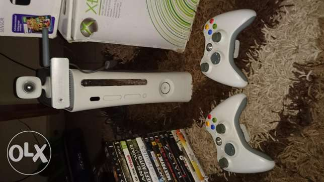Xbox 360 Go Pro For Sale + Kinect