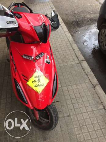 Motorcycle adress 150