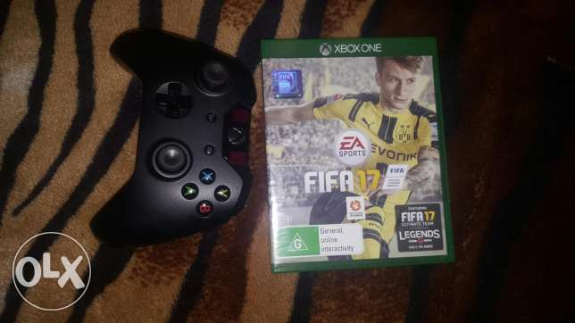 xbox one with fifa 17 for sale