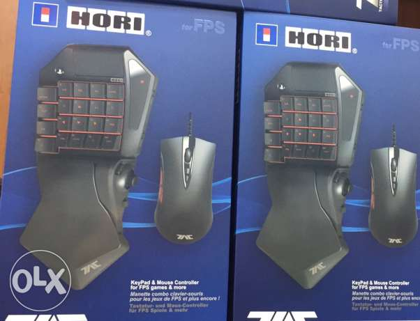 hori key bord and mouse for ps4