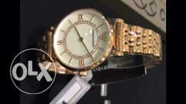 Gold authentic Emporio Armani gold for her