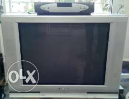 Toshiba TV and DVD player