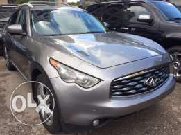 Infiniti FX35 gray 2009 technology