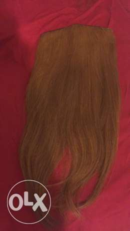 Two Natural long hair Extensions عرمون -  1