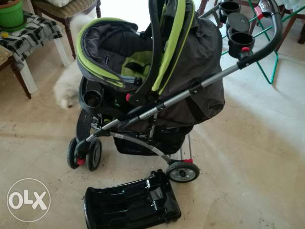 Stroller with car seat and base (negotiable) OR ONLY CAR SEAT