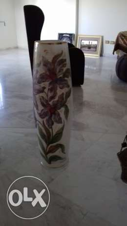 opaline vase very luxury and high quality made in italy خلدة -  2