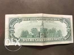 old 100$. 1990