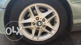 Rims and Tires BMW