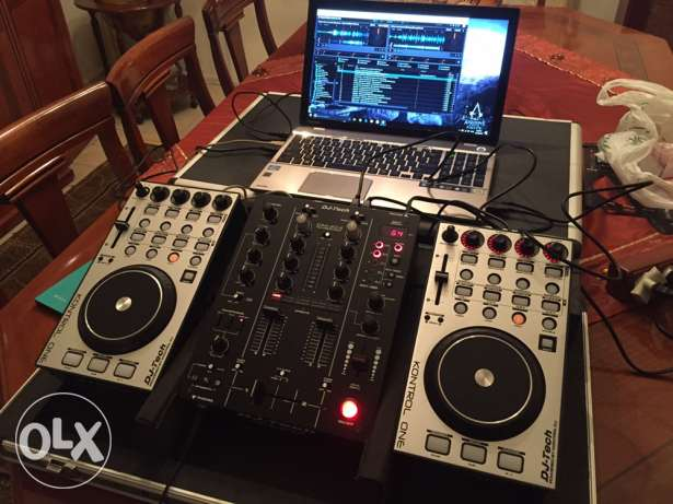 DJ Tech Kontrol One mixer for sale بوشرية -  2