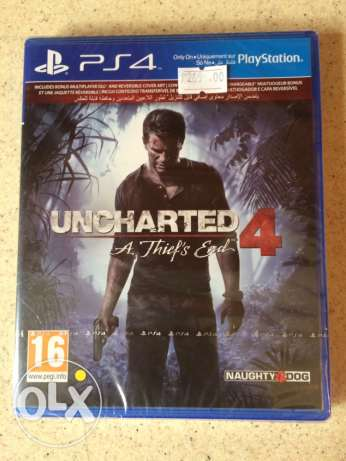 uncharted PS4 new