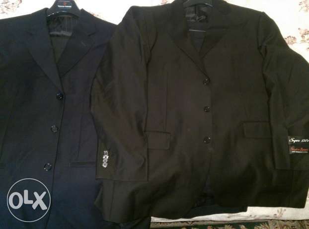 black Suits brand new