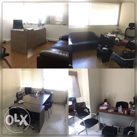 office or apartment for rent in Ramlet el baida