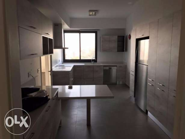 Near Beirut renovated 3 bedroom apartment in a secure green compound