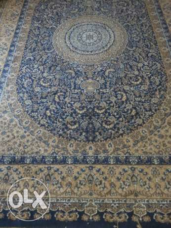 Good condition size 3.5×2.5 m Carpet