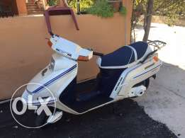 its new motor cycle excelent