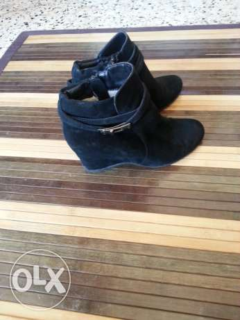 Shoes leather size 38 الميناء -  1