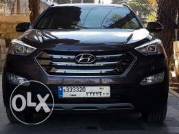 Hyundai santa fe 2016, NO ACCIDENTS, lebanese dealer origin