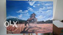 Horse and Landscape Painting