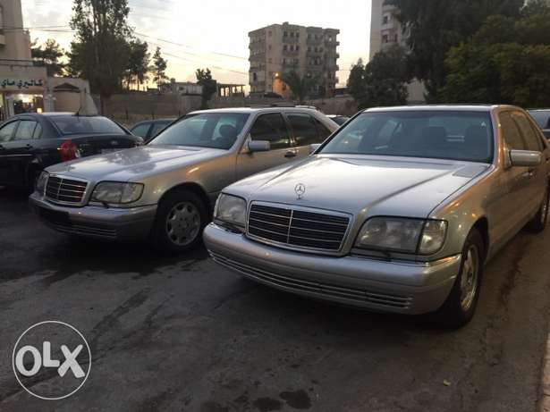 mercedes-benz s klass 320 model 1999 الغازية -  6