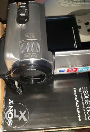 sony handy camcorder-carl zeiss lens-80 gb hdd حارة حريك -  1