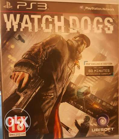 Watch dogs PS3 Game مكلس -  1