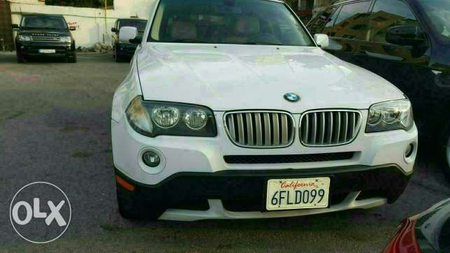 Bmw X3 3.0si full options 2008 ajnabieh very clean new arrival الروشة -  1