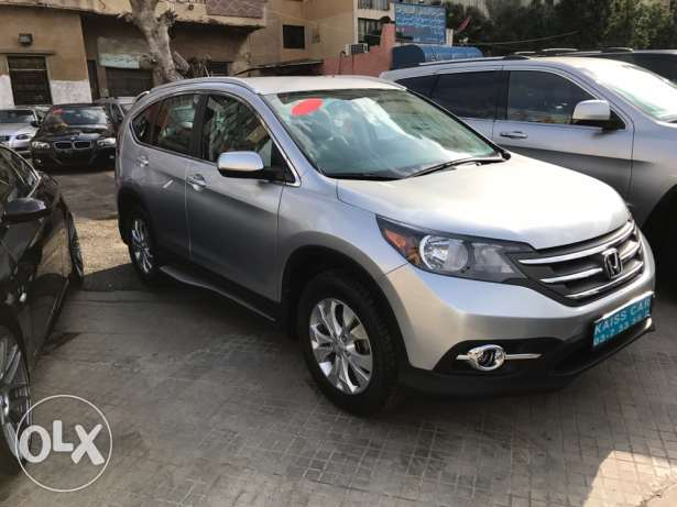 CR-V 2013 Silver-Silver leather Full option