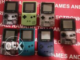 nitendo gameboy color