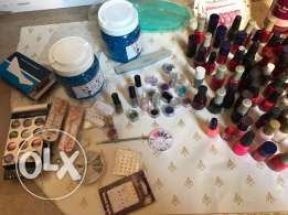 for manicuriste full products for manicure (gel+gelmachine+acrylic+gel