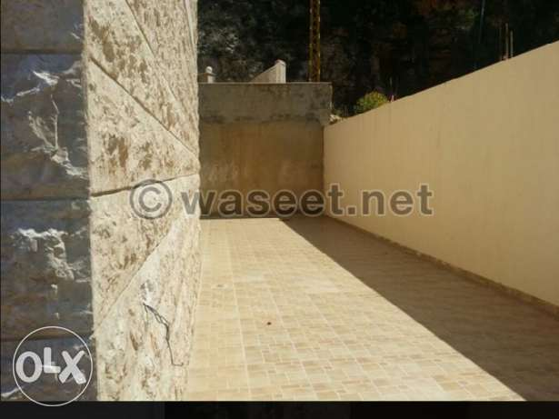 Apartment for sale in a quiet area in bchamoun with a terrace and view بشامون -  3