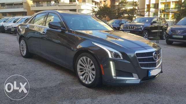 Cadillac CTS 2014/4dr Sdn 2.0L Turbo AWD Specs 11 000 KM only