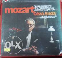 Mozart - The Complete Piano Concertos (Vinyl Box)