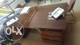Officeesk for sale, wood, 2mx1m, 300$